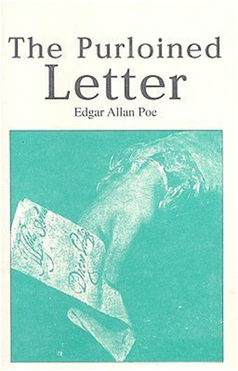 purloined letter  edgar allan poe reviews