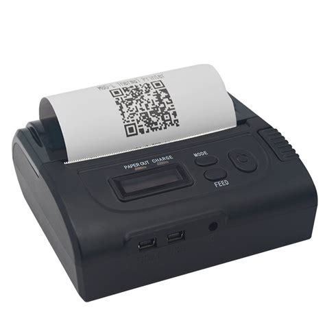 Printer Pos Bluetooth pos 8002ld portable bluetooth thermal receipt printer