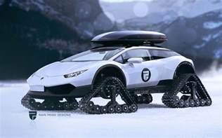 Lamborghini One Lamborghini Hurac 225 N Snowmobile Snomo Lambo Technabob