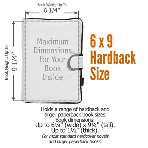 what is the length of a full size bed 6x9 hardback book cover size