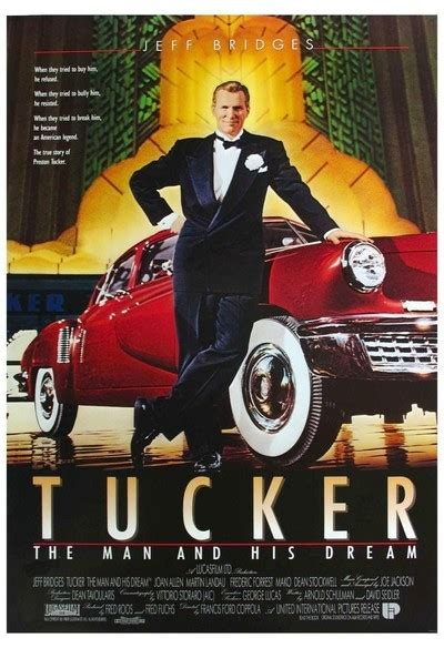 biography film company tucker the man and his dream movie review 1988 roger