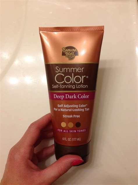 dark tanning lotion banana boat review sunless tanning lotions tips creativity itches