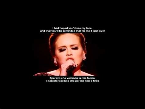 traduzione testo someone like you adele someone like you testo con traduzione in italiano