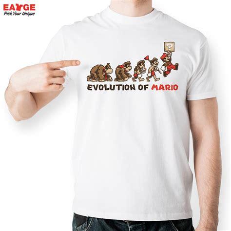 T Shirt Republic Of Gamers Chinays Fashion get cheap mario designer aliexpress