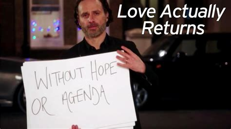 andrew lincoln character andrew lincoln brands his famous love actually character a