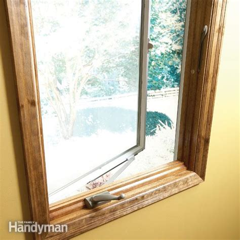 house window crank repair how to repair old windows the family handyman