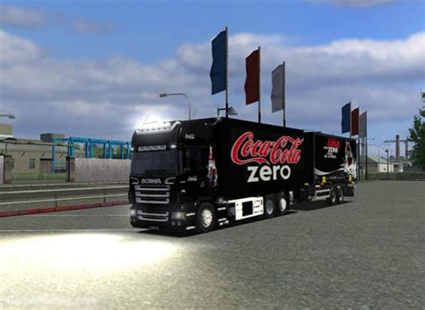 download game euro truck mod scania bdf tandem euro truck simulator mod simulator