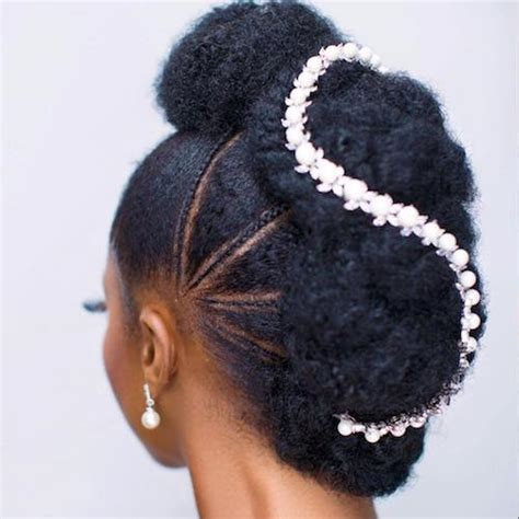 Bridal Hairstyles Afro Hair by 37 Wedding Hairstyles For Black To Drool 2017