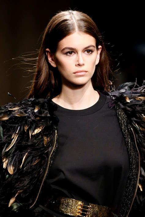 kaia gerber next supermodel kaia gerber supermodel runway walk alberta ferretti show
