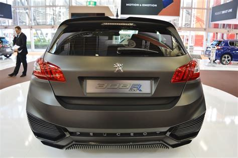 peugeot 2016 for sale peugeot 308 r hybrid concept rear at 2016 bologna motor