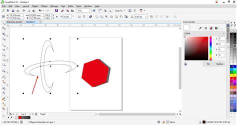 cara membuat warna pattern pada objek tutorial membuat logo telkomsel dengan coreldraw am blog