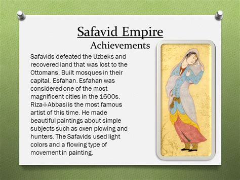 Accomplishments Of The Ottoman Empire The Ottoman Safavid And Mughal Empires Ppt