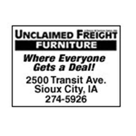 Unclaimed Freight Furniture Sioux City by Unclaimed Freight Furniture Sioux City Ia