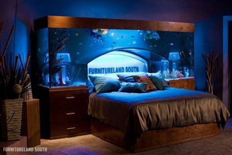 bed with aquarium headboard amazing built in aquariums in interior design