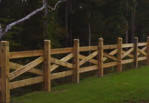 pine sawbuck fence with decorative posts affordable fence