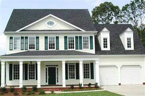 colonial style house plan 4 beds 3 50 baths 2936 sq ft