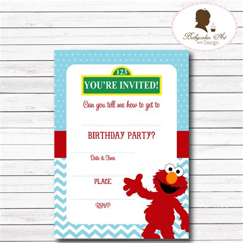printable elmo stationary instant download elmo invitation elmo 1st birthday by