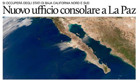 ufficio consolare nuovo ufficio consolare onorario italiano in baja california
