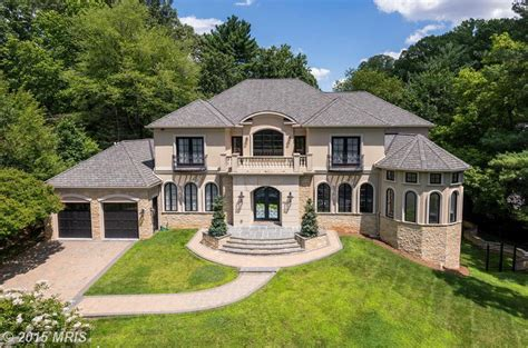 4 million stone amp stucco mansion in mclean va homes of