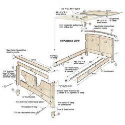 Free Bed Frame Woodworking Plans Woodwork Log Bed Frame Plans Pdf Plans