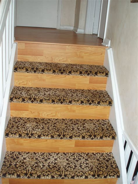 Stair Treads For Carpeted Steps by Americarpet Floors Laminate And Carpet Stairs