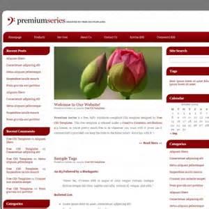 Premium Templates premium series free website templates in css html js