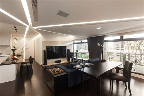 high level of interactivity exuded by stylish modern home