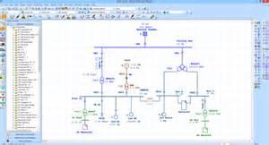 Apartment Single Line Diagram Intelligent Electrical One Line Diagram Etap