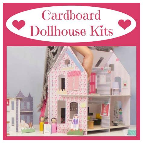 doll house making kits easy to make cardboard dollhouse kits