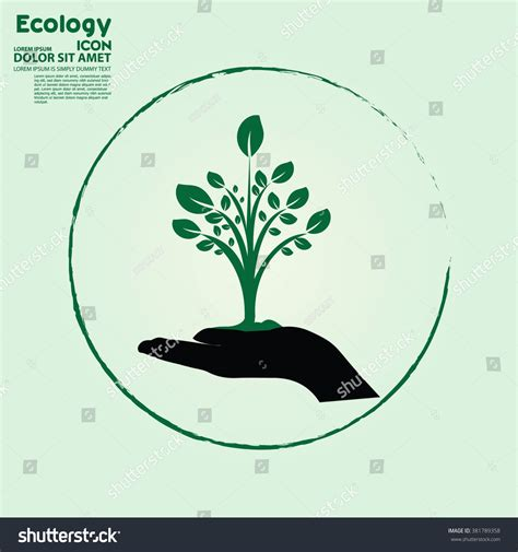 Icon Ecology Tree Greenicon Green Energygreen Stock Vector 381789358 Shutterstock Ecology Green Icons Tree With Logo Vector Stock Vector Image 51156431