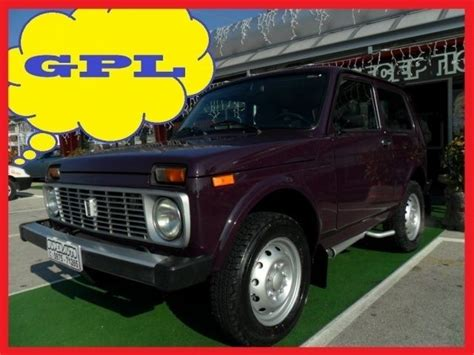 lada di sale prezzi sold lada niva 1 7 i gpl gancio used cars for sale