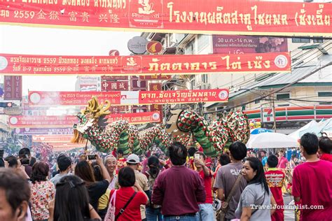 new year 2016 chinatown new year in bangkok chinatown yaowarat thailand