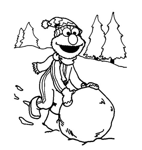 snow coloring pages dog and kid in winter grig3 org elmo playing snow winter coloring pages for kids winter