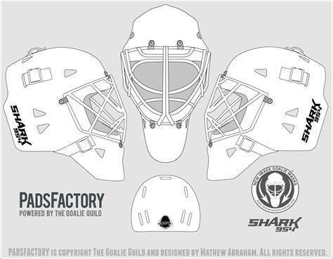 mask templates the goalie archive