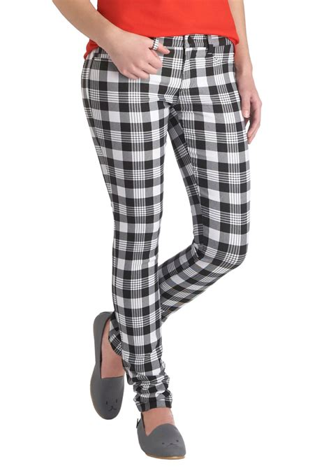 pants checkered jeans checkered pants black and white vintage pant fosoz