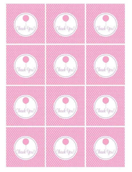 free printable baby shower favor tags template free pink and purple birthday printables from green