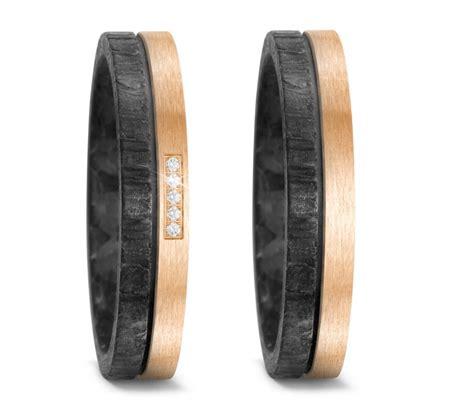 Eheringe Bronze by Partnerringe Hochzeitsringe Aus Bronze Und Carbon