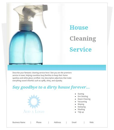 House Cleaning Images Free Sles Of House Cleaning Flyers House Cleaning Flyers Templates Free