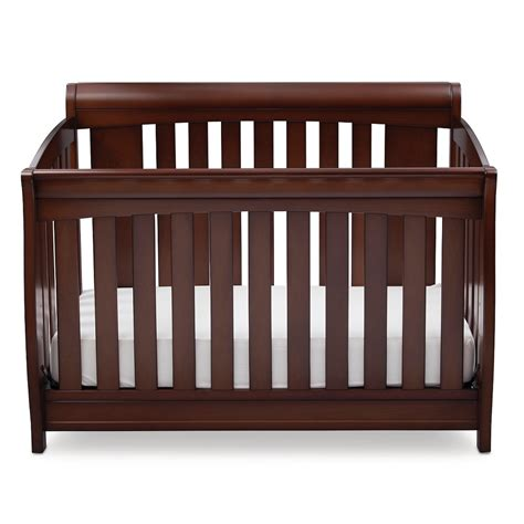 Delta Bentley 4 In 1 Convertible Crib Chocolate Deals And Reviews For Delta Children Clermont 4 In 1