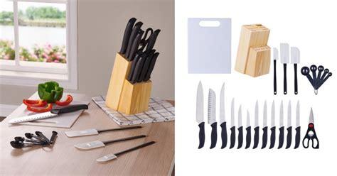 walmart mainstays kitchen 23 cutlery gadget set