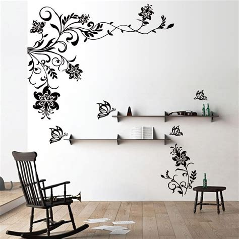 stickers for rooms 20 best collection of butterflies wall stickers wall ideas