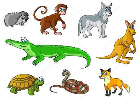 imagenes animales de la selva animados dibujos animados de animales silvestres de bosque y selva