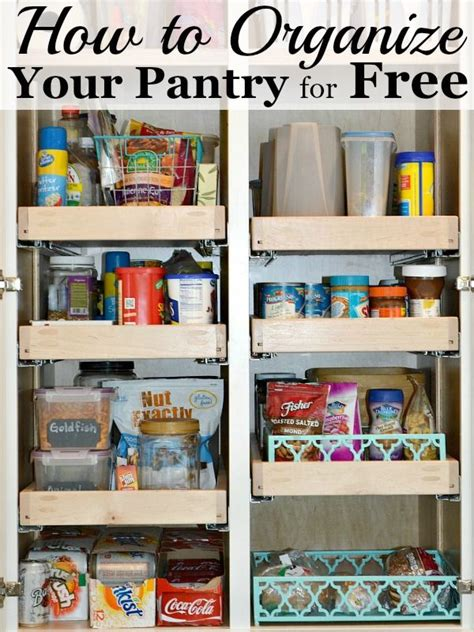 how to organize a pantry 1000 images about organizing kitchen on pinterest