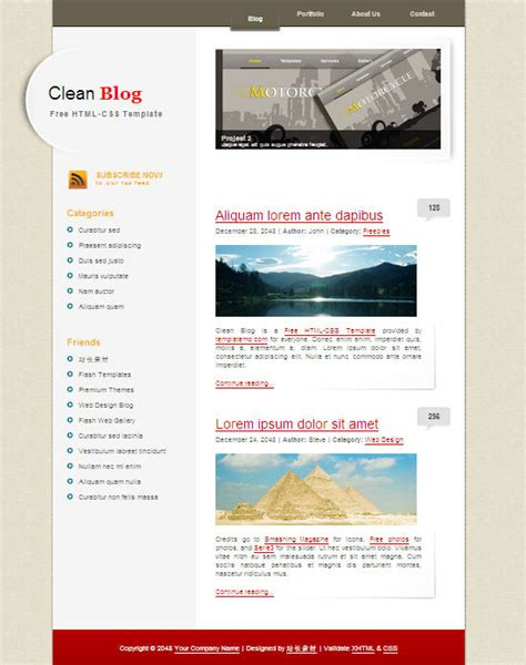 css tutorial ppt free download clean blog css page templates over millions vectors