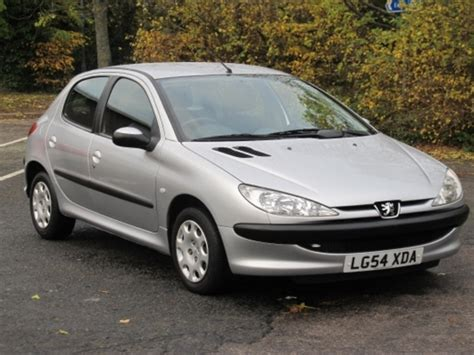 used peugeot 206 used peugeot 206 2004 petrol silver with for sale autopazar
