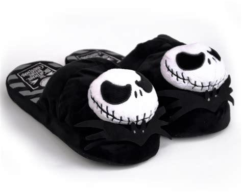 skeleton slippers skellington slippers nightmare before