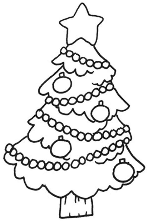 Printable Christmas Tree Coloring Sheets | free printable christmas tree coloring pages for kids