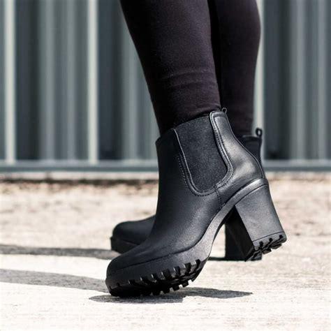 spylovebuy yael black ankle boots shoes at spylovebuy