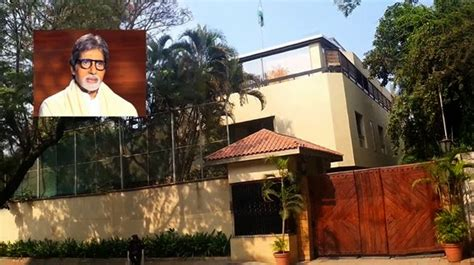 amitabh bachchan house the famous addresses addresses of hindi movie actors actresses and singers