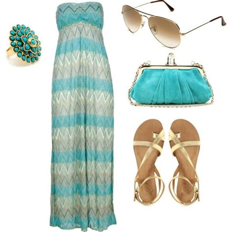 Rosekasm Dress blue created by roskam on polyvore lights fashion summer wear